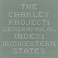 The Charley Project: Geographical Index: Midwestern States