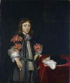 Gerard ter Borch - Gerbrand Pancras (voorheen bekend als Hendrick Casimir II, Prins van Nassau-Dietz)
