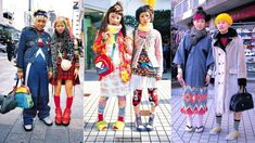 The quirky packs of fashionistas that gathered in Harajuku were documented by legendary magazine FRUiTS. But, asks Lindsay Baker, has the Tokyo district's wild spirit now been tamed? Harajuku Fashion, Harajuku Style, Classic Photography, Wild Spirit, Culture, Street Style, Fashion Weeks, Festivals, Snowflakes