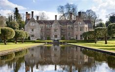 Bloxworth House, Dorset, used in the 1967 adaptation of Thomas Hardy's 'Far From the Madding Crowd'. Via The Telegraph and Savill's.