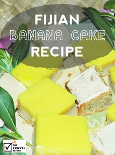 Monthly World Food Feature: Fijian Banana Cake Recipe. A party without banana cake in Fiji is like no party at all. Here is the recipe for 20+ people!!