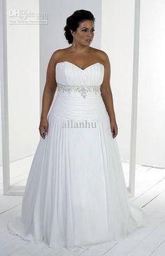 105 Best PLUS SIZE WEDDING DRESSES images in 2019  40c200185f57