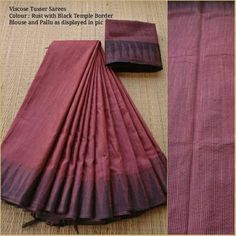 Jute Sarees, Jute Silk Saree, Cotton Saree Blouse, Silk Sarees, Linen Blouse, Saris, Trendy Sarees, Fancy Sarees, Magenta