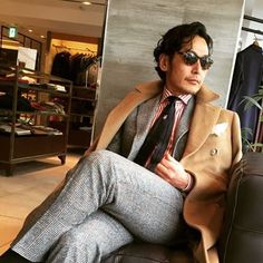 Be inspired by @gatsby_osaka || MNSWR style inspiration || #menswear #menstyle #mensfashion #dapper #outfit #mensstyle by mnswrmagazine  via menstylica