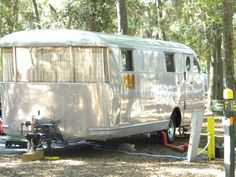 Completely rebuilt 1946 Spartan travel trailer.