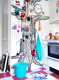 Kitchen / кухня / оформление стены
