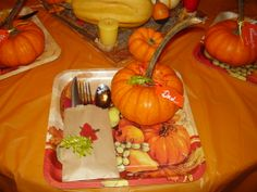 Thanksgiving 2013~ Plate ,sliver ware, and place card.That I did. ~Anna E.G.