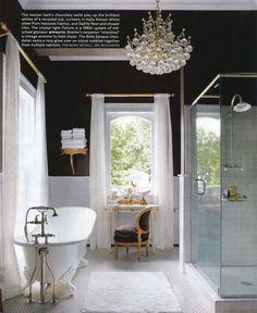 black bathing beauty