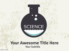 Free Science Experiment PowerPoint Template | Years | Pinterest ...