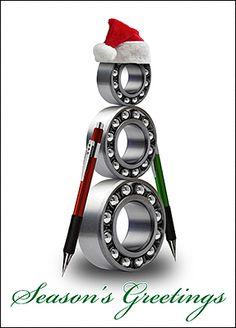 Customize Mechanical Engineer Christmas Cards Online | Ziti Cards