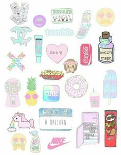 Wallpaper discovered by hola on We Heart It Tumblr Stickers, Phone Stickers, Cute Stickers, Emoji Wallpaper, Tumblr Wallpaper, Printable Stickers, Planner Stickers, Transparents Tumblr, Arte Do Kawaii