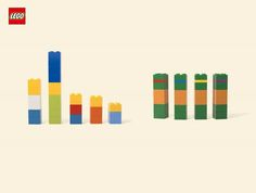 Love this campaign for LEGO. All you need is imagination!