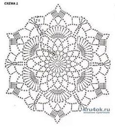 Crochet Stitches Chart, Free Crochet Doily Patterns, Lace Knitting Stitches, Crochet Doily Diagram, Crochet Flower Tutorial, Crochet Motif, Crochet Doilies, Crochet Flowers, Crochet Snowflakes