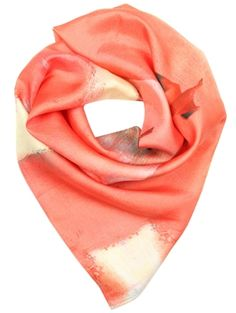 We love the Summery sunset red colour of this scarf. It's the perfect pick me up and pop of colour for any outfit