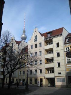 Postmoderne Plattenbau, Nikolaiviertel