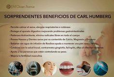 Té de CARL HUMBERG de JM INTERNACIONAL muy pronto en Ecuador