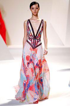 Tendencias primavera 2013 faldas vestidos largos maxi - Elie Saab   Galería de fotos 24 de 48   Vogue México