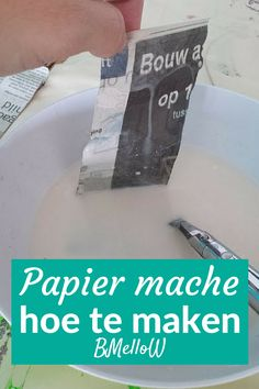 Tips Papier mache Cool Kids, Blog, Cards Against Humanity, Cool Stuff, School, Paper, Projects, Fun, Crafts