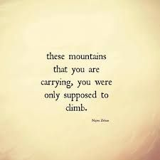 Image result for carrying your own burdens and others too.