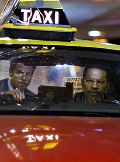 Tom Cruise & Jamie Foxx in Collateral, 2004