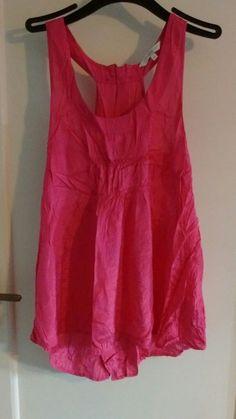 UK Size 14//16 Ladies /'Joanna Hope/' Sleeveless Velour Top CHOCOLATE NEW