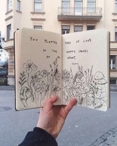 Sketch Drawing 15 Art Journal Ideas: Stunning examples of art journal pages for inspiration for your own art journal // Art Journal Pages, Journal D'inspiration, Journal Ideas, Sketch Journal, Art On Book Pages, Drawing Journal, Doodle Art Journals, Artist Journal, Garden Journal