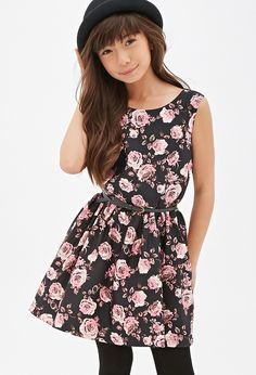 Hermoso vestido florado