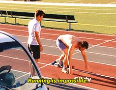 You start the warm-up and within two minutes of the first exercise you realize: | 24 Things That Happen When You Decide To Do The Insanity Program