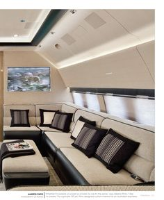 Travel Chic plane interior