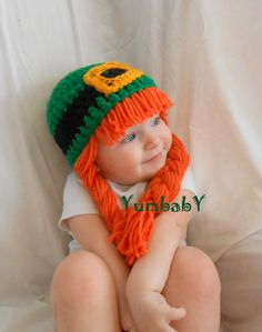 Leprechaun Hat Saint Patricks Day photography props por YumbabY