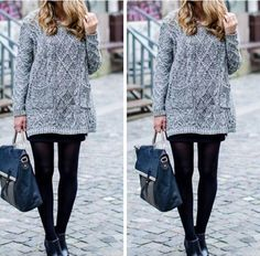 This #sweater looks so stunning and cute!