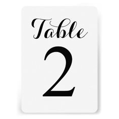 ShoppingModern Script Table 2 | Table Numbers Cardso please read the important details before your purchasing anyway here is the best buy