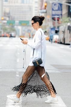 #fashion #style #fishingnet #splash #c-thru