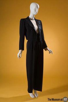 Suit Yves Saint Laurent, 1982 The Museum at FIT