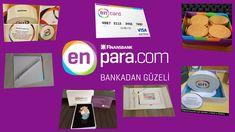 EnPara-EnCard Kutusundan neler çıkıyor-Hediye EnPara Kalemi ve Enpara De...