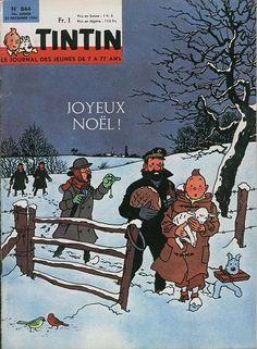 Journal de TINTIN édition Française N° 844 du 24 Décembre 1964