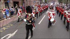 BBC NEWS | UK | Northern Ireland | Thousands march in Orange parades