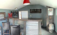 Backyard shed bar ideas cool shed ideas cool shed ideas pub shed bar ideas for men . backyard shed bar ideas Diy Home Bar, Home Pub, Bars For Home, Cool Sheds, Small Sheds, Cool Shed Interior Ideas, Backyard Shed Bar Ideas, Backyard Retreat, Shed Ideas Inside
