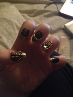 Shop online www.jonesandjonesfashion.com.welcome.to gold chain nails