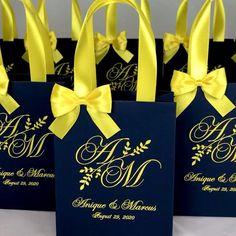 Party Gift Bags, Wedding Gift Bags, Wedding Favor Boxes, Wedding Favors For Guests, Wedding Ideas, Personalized Gift Bags, Custom Gift Bags, Destination Wedding Welcome Bag, Wedding Welcome Bags