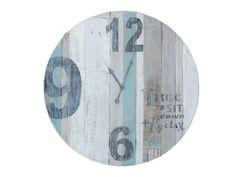 Stoere klok van StoerinWonen. Ontworpen en gemaakt door StoerinWonen. Van het eigen label Houtgemaakt.