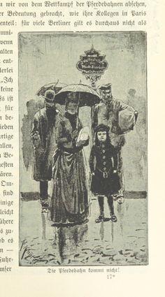 Berlin, Die Pferdebahn kommt nicht, 1894