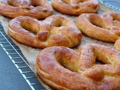 Soft Pretzels (like Auntie Anne's)  Wish I had had this recipe when my girls were young.  But since I love pretzels too will make soon, very soon.