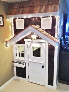Under Stairs Playhouse, Build A Playhouse, Cinderella Room, City Living, Play Houses, My Dream Home, Home Projects, New Homes, Entrance