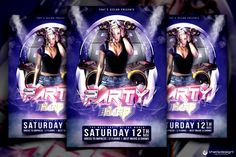 FREEBIES - Party Free Flyer Templates