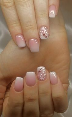 You can have your favorite glitter designs with shellac too. All you have to do is to choose the color combination you want and then you can have the trendiest nails ever. Ombre designs take a glamorous look with the right glitter colors so next time make sure have it.French manicure looks elegant and suitable … … Continue reading →