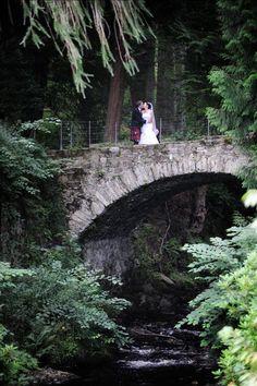 Real Weddings: Scottish wedding via intimateweddings.com