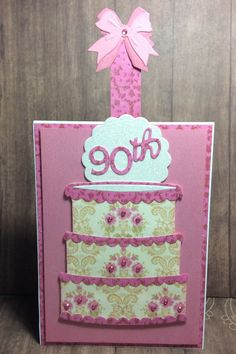 4f914982c78 by BrendaMaeCreations. 90th Birthday CardsMom ...