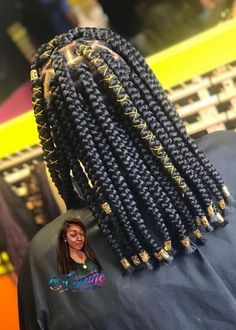 short box braids Image in Braids/Locs collection by Briana B . Braids Hairstyles Pictures, Box Braids Hairstyles For Black Women, Twist Braid Hairstyles, African Braids Hairstyles, Braids For Black Hair, Black Girl Braids, Weave Hairstyles, Cabello Afro Natural, Natural Hair Braids