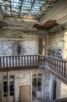 The abandoned Villa Excelsior in Luarca, Spain.